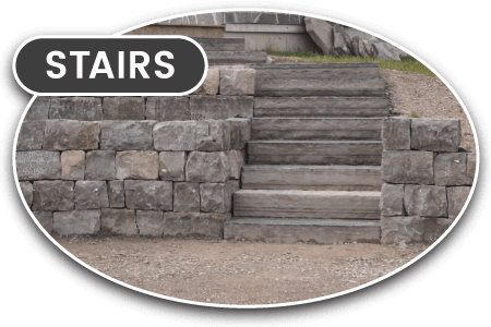 stone stairs construction