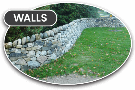 stone wall construction